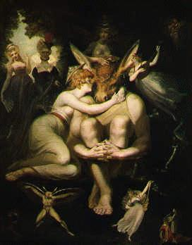 Fuseli's Titania, Bottom and the Fairies