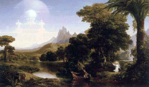 Thomas Cole's Voyage of Life: Youth