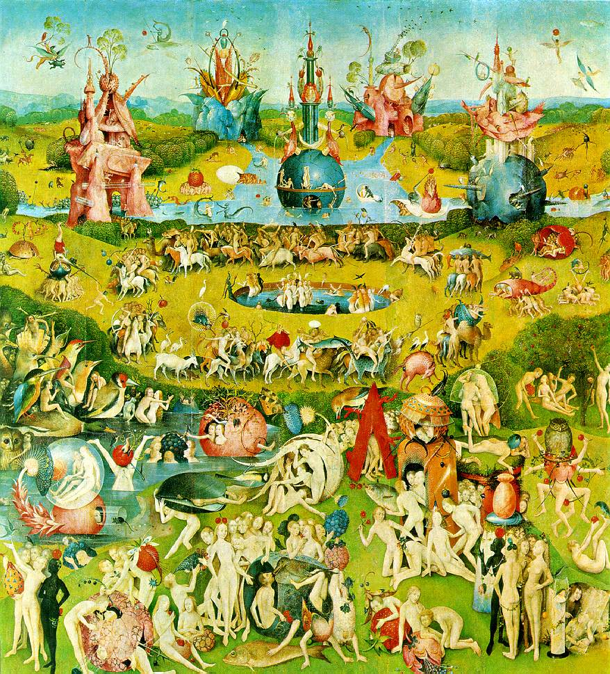 Bosch's Garden of Earthly Delights (detail)