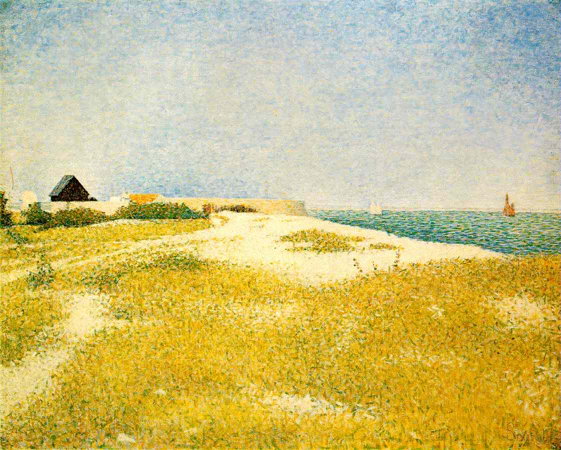 Seurat's View of Fort Samson, Grandcamp