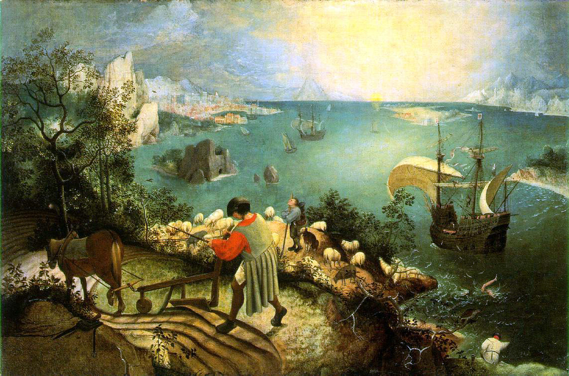 Bruegel's Landscape With Fall of Icarus