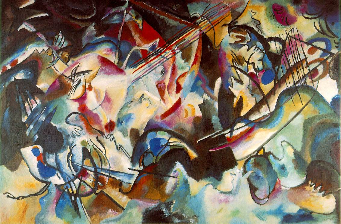 Kandinsky's Composition IV