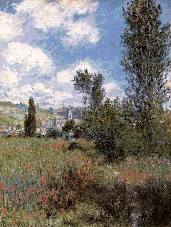 Monet's Path in The ile Saint-Martin, Vetheuil