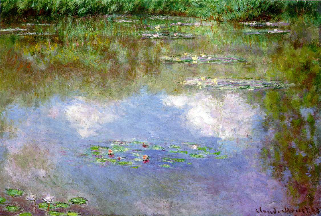 Monet's Water Lilies (The Clouds)