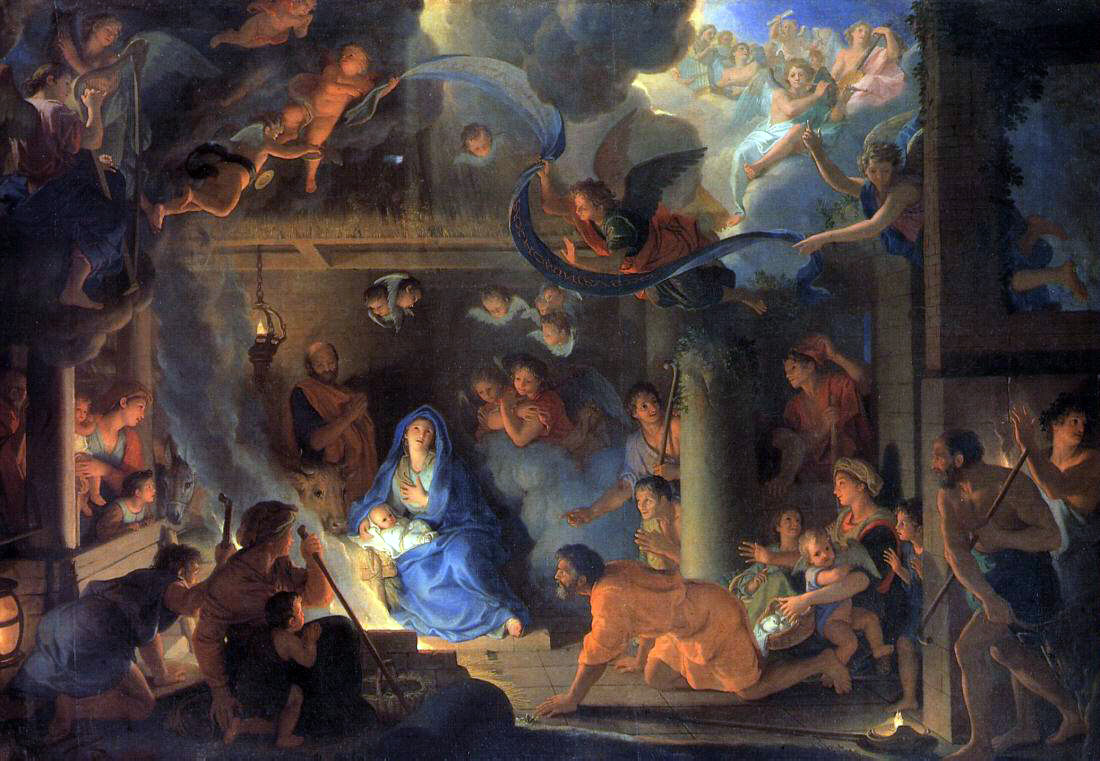Le Brun's Adoration of The Shepherds