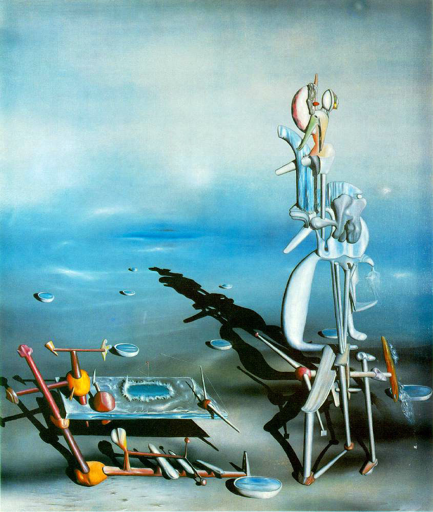 Yves Tanguy's Indefinite Divisibility